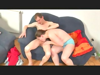 bulky german housewife receives fucked by her