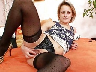 kinky older mama st time masturbation video