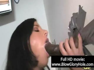 GloryHole - Sexy Busty Babes Love Sucking Cock 11