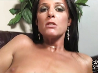 Cuckold love to clean his wife covered by black
