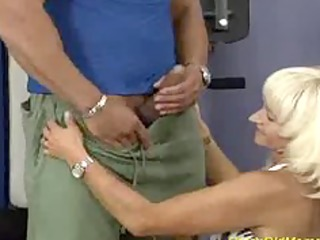 crazy old mama acquires drilled hard in her