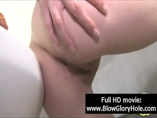gloryhole - sexy breasty women love sucking cock