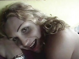sexy blond milf sucks cock deeper and deeper and