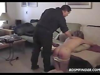 domestic discipline drubbing