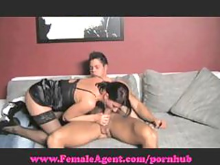femaleagent. soaked mouth blowjobs