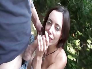 elo analfucked in public garden