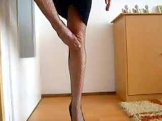 the glamorous legs and wazoo of my wife
