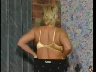 milf in lace top nylons toys
