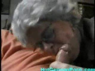 german grandmother catches her lad masturbating