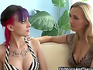 going bad with lesbo step-mom