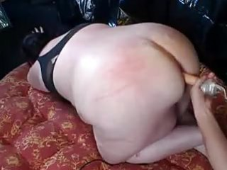 arse drilling serving his chunky wife by