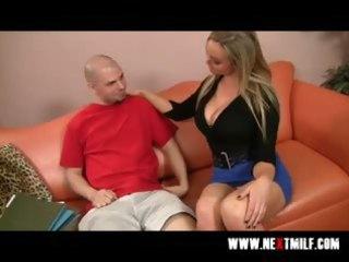 breasty blonde mother i tasting big meat pole