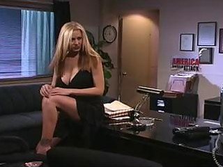 Hot milf fucked in the office