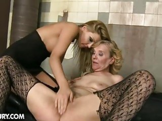 granny gets mistreated by a youthful beauty