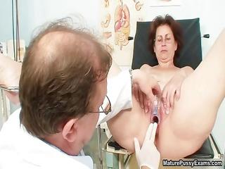 lascivious doctor does a close up peek part1