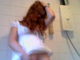 Hot milf in wet panties
