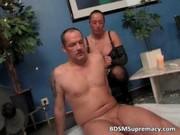 perverted older female-dominant waxes undressed