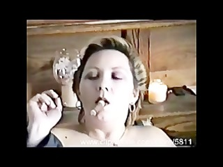 smokin dawn- dawn smokes a cigar and plays