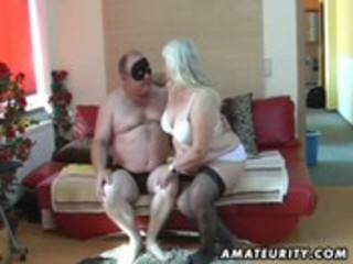 overweight amateur wife sucks and bonks on her