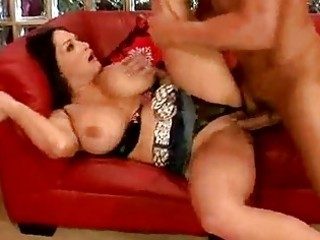 lusty momma cathy barry gets fucked the way she