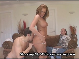 wife has allies balls slapping against her slit