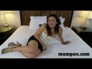 hawt latin chick mother i gives a pov blowjob and
