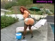 redhead milf destroyed by darksome cook