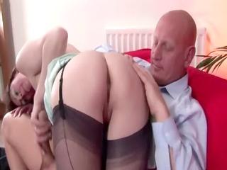Dirty mature stockings slut