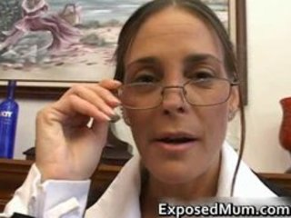 hot milf in glasses deepthroating black part8