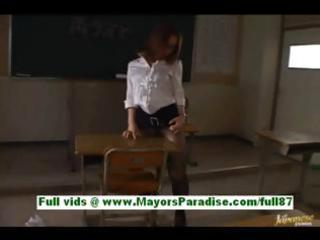 nagomi momono horny oriental teacher at school is