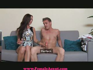 femaleagent - mother i exploits shy boy in casting