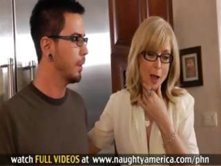 hot mother i nina hartley sucks on his cock and