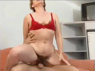 Hairy mom anal and facial