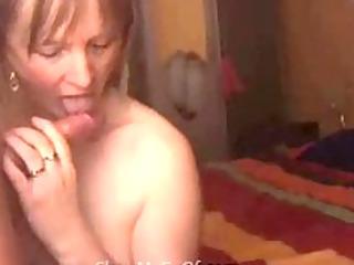 wife swallowing cum