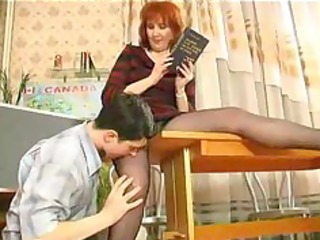 aged teaches her student russian cumshots gulp