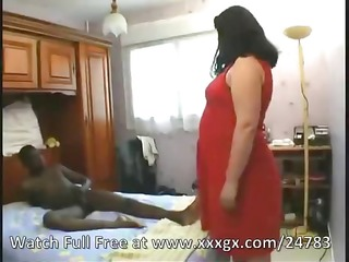 homely french bbw acquires a hotel fuck