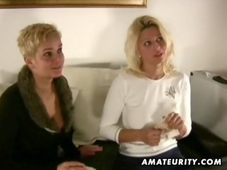 7 breasty dilettante milf share one dong with
