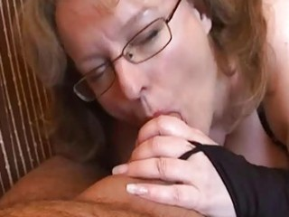 breasty dilettante wife tugjob and blowjob with