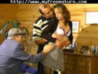 Sharing his wife with old man mature mature porn
