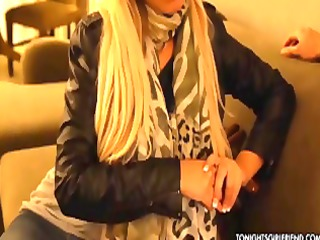 breasty blond latin chick bridgette b meets up