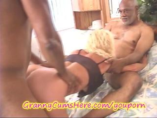 large black ramrod up grannys a-hole