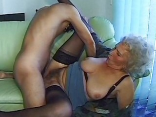 avid old mamma receives large penis